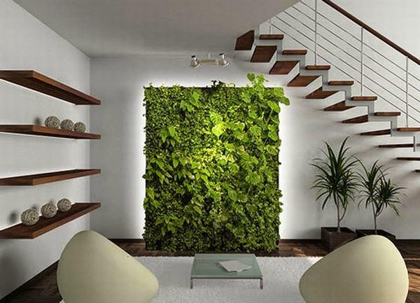 Vertical Garden untuk Taman dengan lahan Kecil