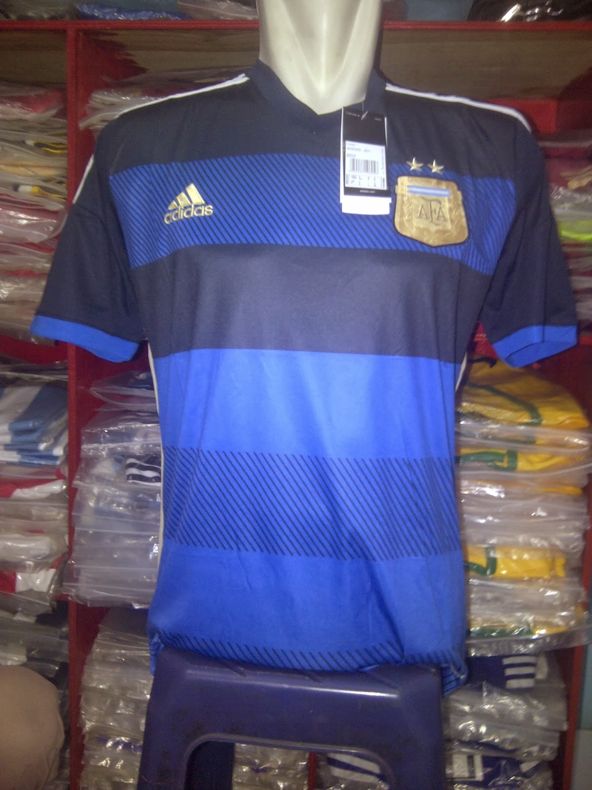 Jersey GO Argentina Away World Cup 2014