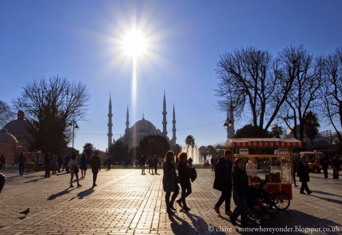 exploring Sultanahmet by day - Istanbul, Turkey