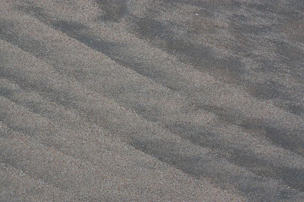 striped sand