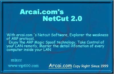Software Networking NetCut Version 2.0.9 Offline Installer Full Terbaru Gratis