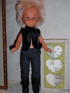 ropa diseño para muñeca Nancy