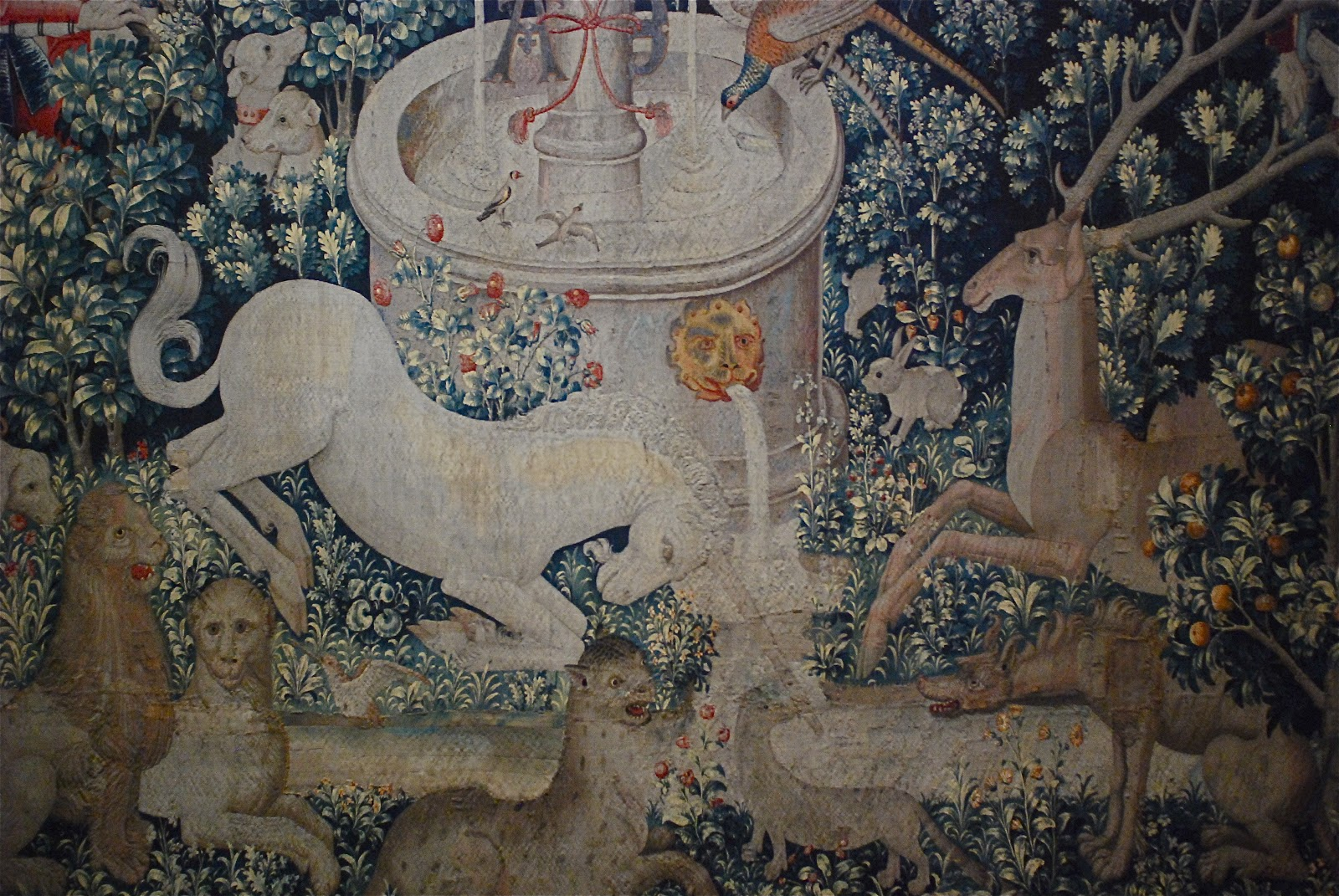 Worksheet Myth Of The Unicorn nyc the myth of unicorn tapestries at cloisters