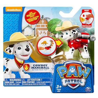TOYS : JUGUETES - PAW PATROL : La Patrulla Canina Cowboy Marshall | Hero Pup | Figura - Muñeco Producto Oficial Serie TV Nickelodeon 2015 | A partir de 3 años Comprar en Amazon España & buy Amazon USA
