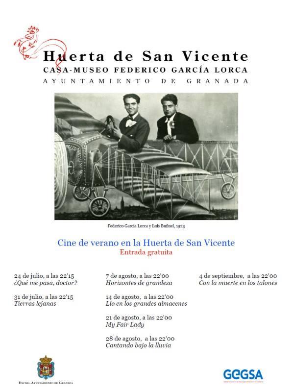 Sobreviviendo cine de verano en la huerta de san vicente for Huerta de san vicente muebles