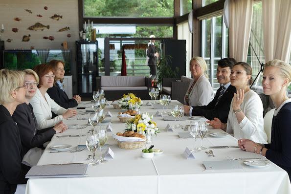 Crown Princess Victoria Visits Latvia