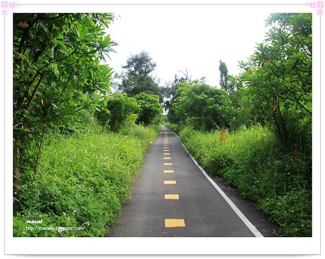 西濱海邊-自行車道