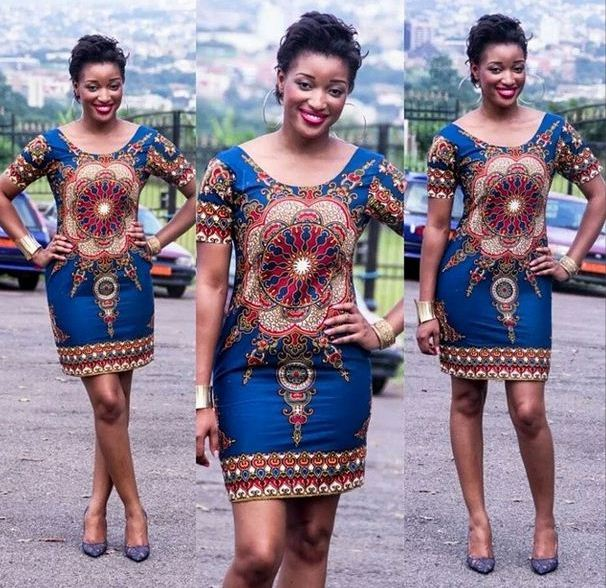 Simple Ankara Style Short Gown - Debonke House Of Fashion