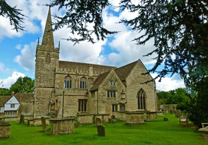 St Cyriac's, Lacock, church, Wiltshire
