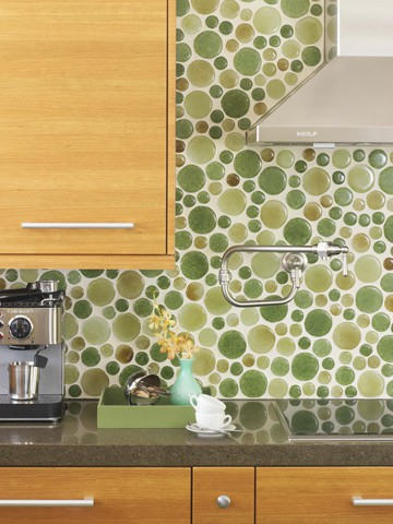 9 Colorful Kitchen Backsplash Inspiration!!