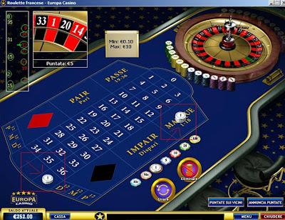 Quanto paga il numero secco alla roulette