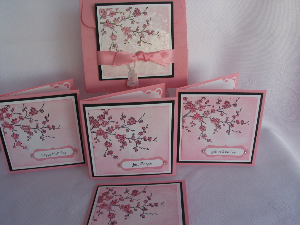 Goldcats Stamping Heaven Stampin Up Easter Blossoms – Boxed Easter Cards