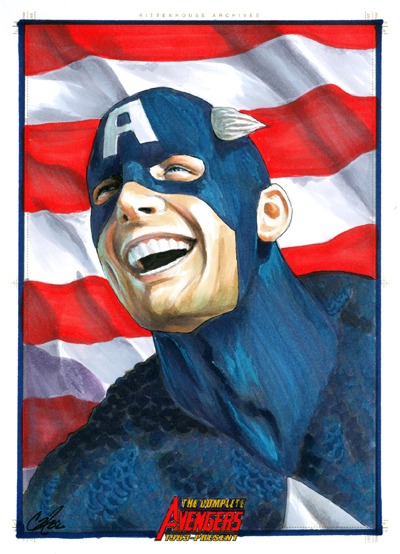 Complete Avengers:Cap America por gattadonna