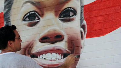 Gabby Douglas Mural in Virginia Beach