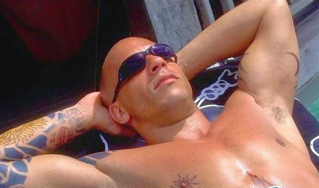 Vin Diesel Body Photos