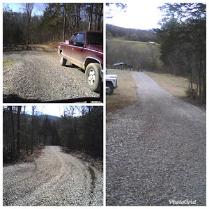 New gravel for Quail Way South