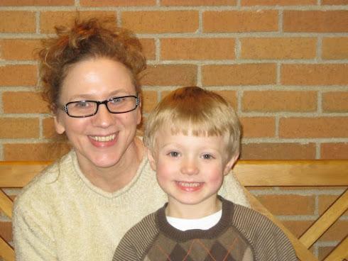 Grandma (Me) and Grandson