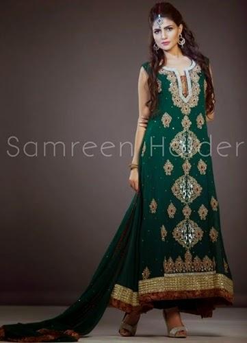 Samreen Haider Formal Dresses 2014-15