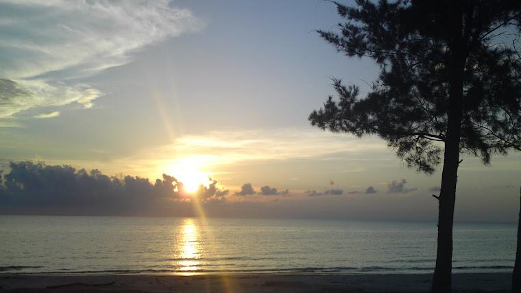 Sunset view from BTBL