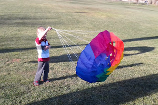 Flying Kites in Chico, CA