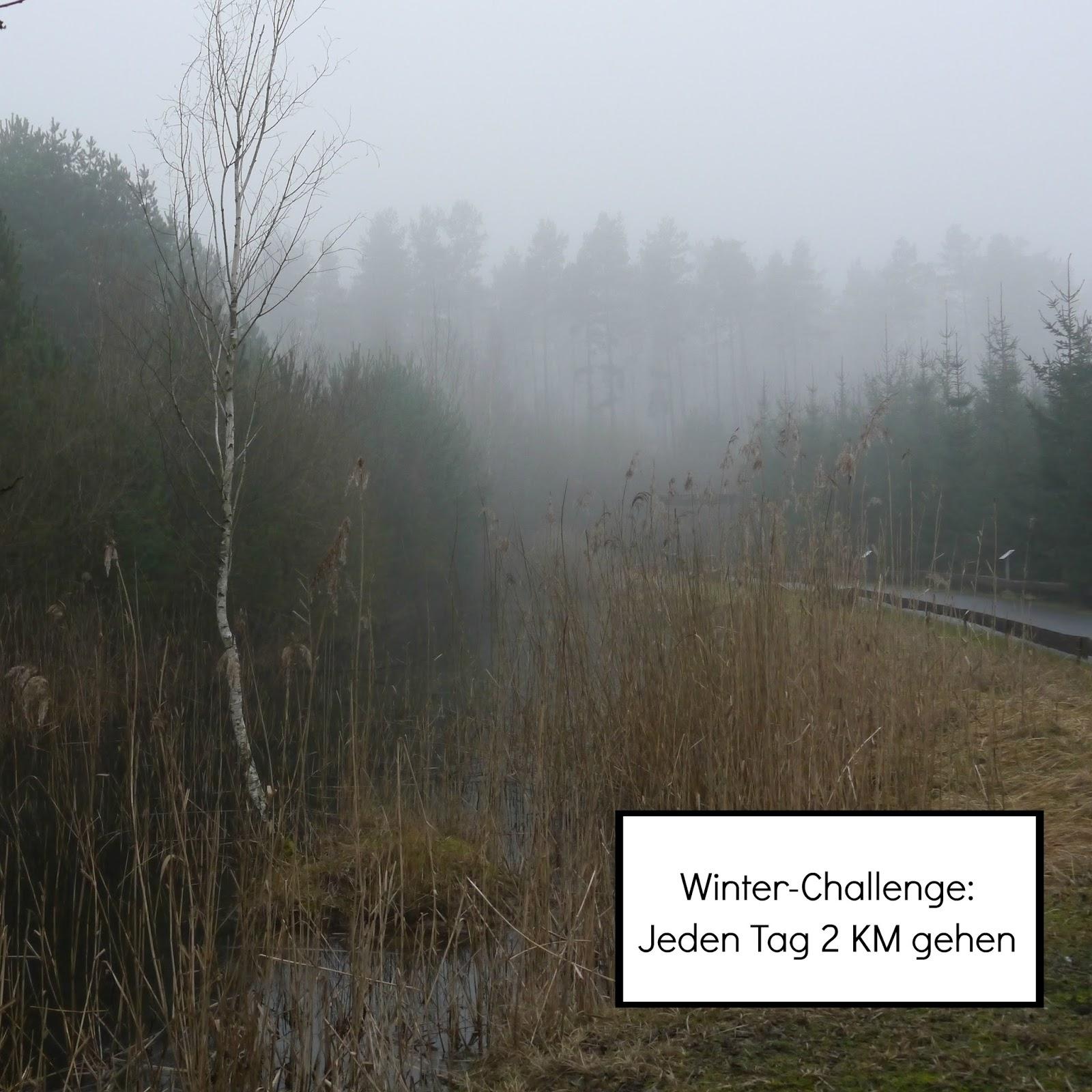 Jeden Tag mindestens zwei Kilometer gehen für 31 Tage