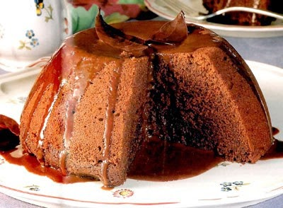 Bahan dan Resep Puding Moka Saus Jeruk Menu Dessert Ala Restoran