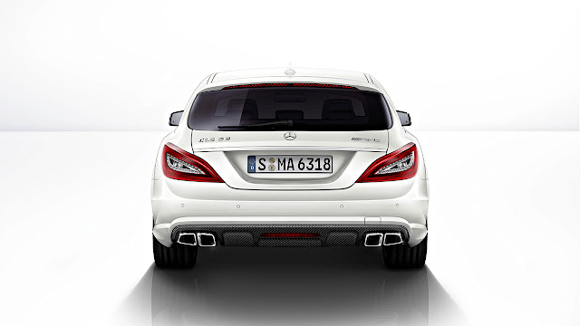 Mercedes-Benz CLS 63 AMG Shooting Brake: The performance trendsetter back