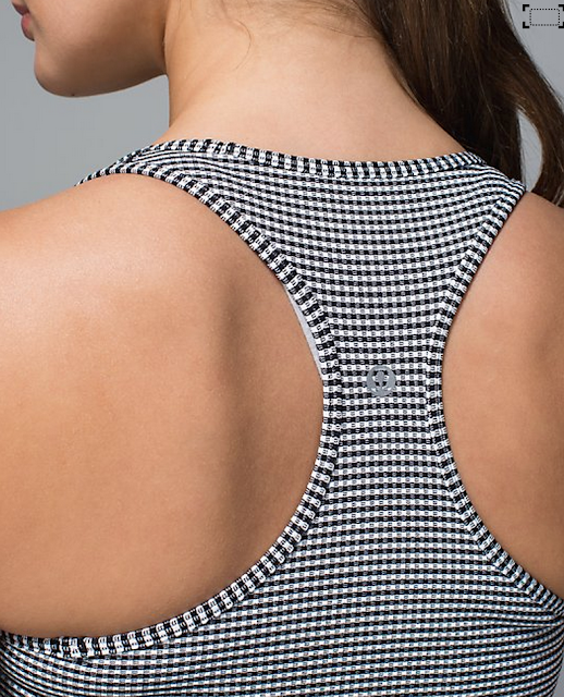 Gingham Cool Racerback