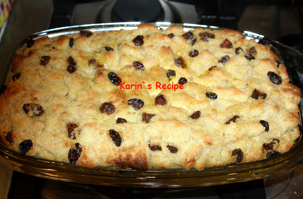 Karin's Recipe: Puding Roti (Bread Pudding)