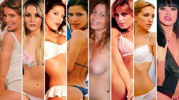 los videos porno de las famosas: