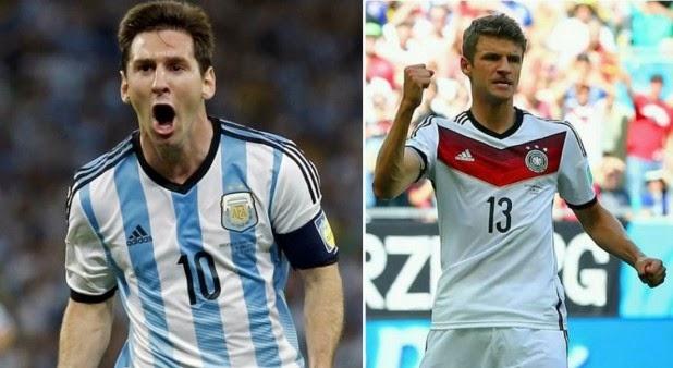 Alemania y Argentina disputarán la final del mundial