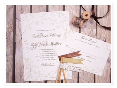 printable floral fun whimsical wedding invitation diy