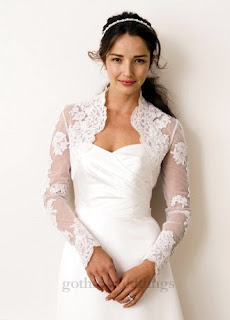 Gothic Lace Wedding Dresses Pictures