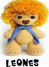LEON, LION, AMIGURUMI