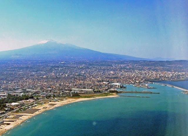 Etna Volcano in Sicily, Catania