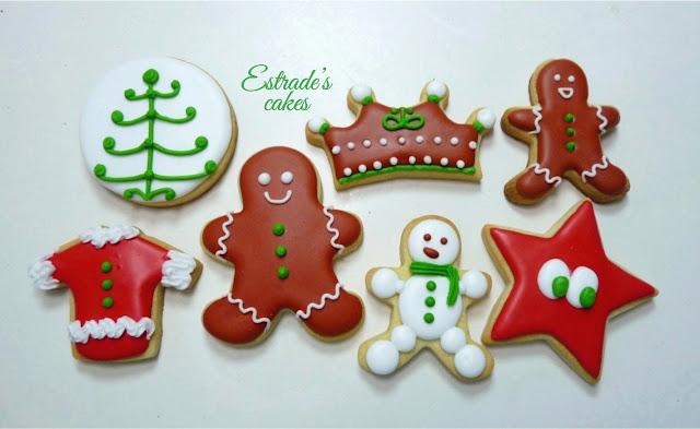 galletas de Navidad con glasa - 4
