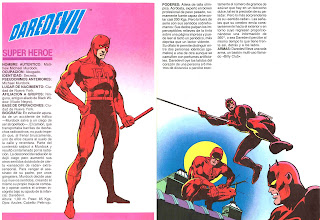 Daredevil Superheroe Marvel