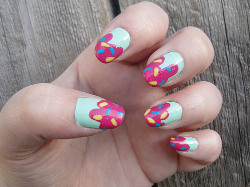 cupcake nail designs ideas-14
