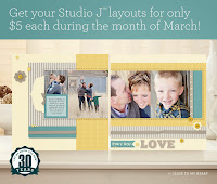 Studio J Layouts $5
