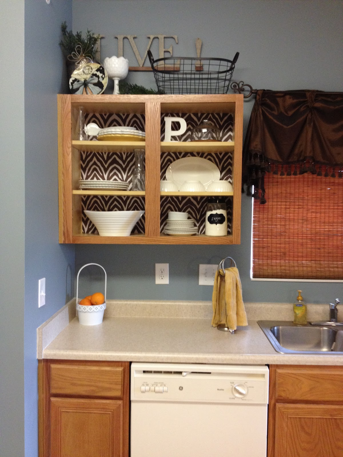 Kitchen Cabinet Shelf Paper Kitchen Cabinet Makeover Simply Sarah Style