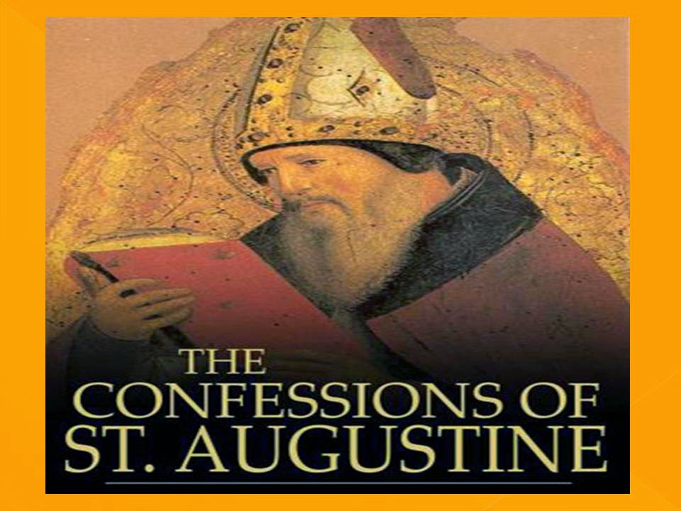 saint augustines confessions about sinning in the confessions Ii st augustine on law and grace  without being as yet free and removed from the desire of sinning for it is in his very will that he is guilty,.