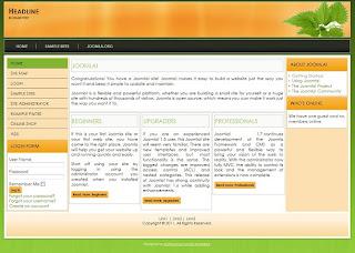 joomla 1.7 portal template