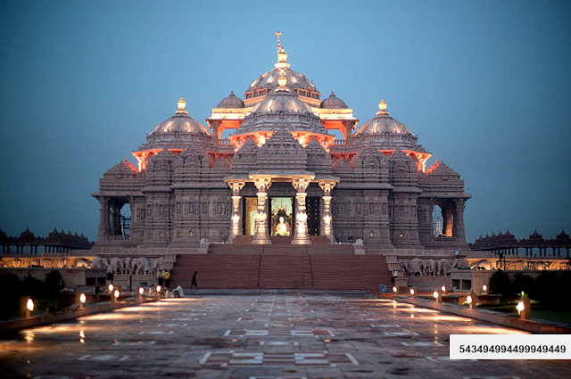 akshardham temple india