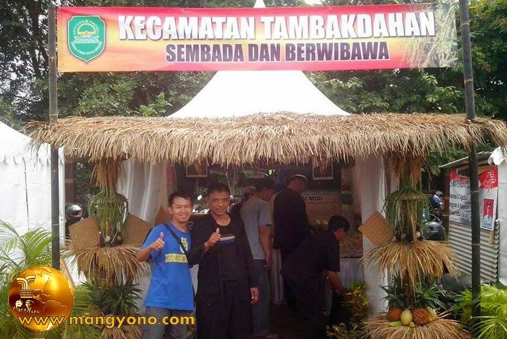Stand Kec. Tambakdahan, Pameran Pembangunan 2015.