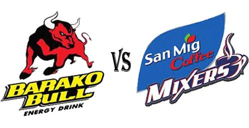 October 28, 2012, Barako Bull Energy Cola vs San Mig Coffee Live Stream