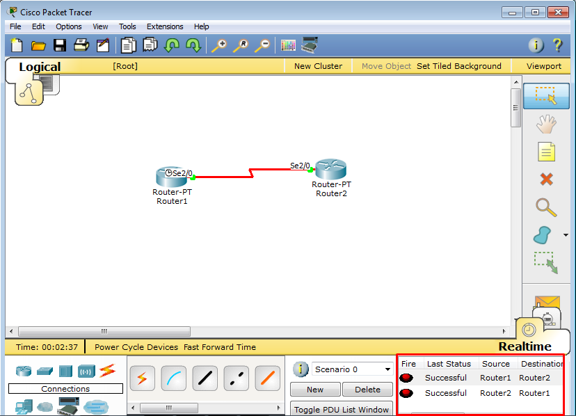 how to set up a packet tracer level 3 switch