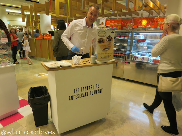 Selfridges Trafford Centre Foodhall Event Lancashire Cheesecake Company