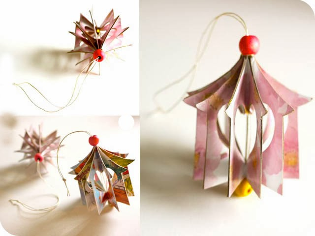 Popular Diy Crafts Blog How To Make Heart House Ornaments
