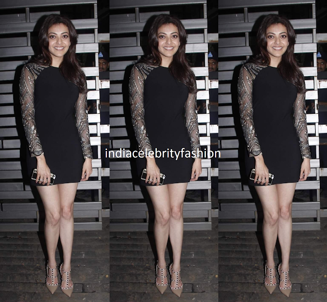 Kajal Agarwal in Namrata Joshipura at Glenfiddich dinner