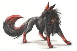 Tsuki-Dark Wolf Form~